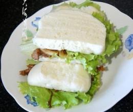 最简单的中式汉堡