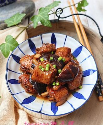 香菇烧鸡翅