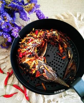 香辣烤鲟鱼