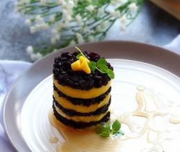 芒果黑米饭