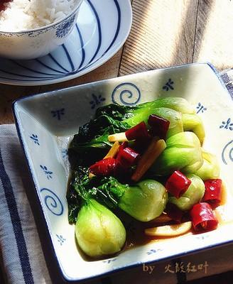清炒小棠菜