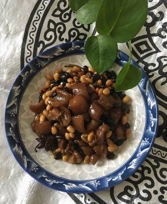 肉皮黑黄豆