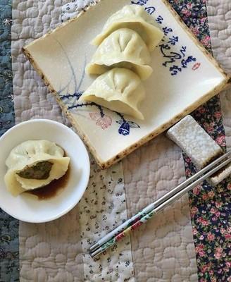 羊肉茴香大蒸饺