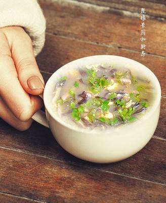香菇木耳蛋汤
