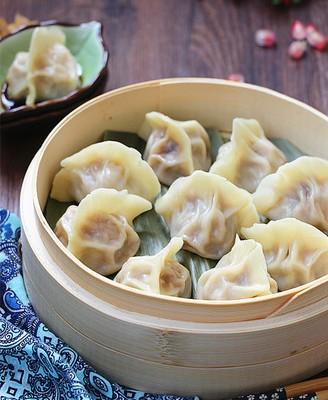 牛肉白萝卜蒸饺
