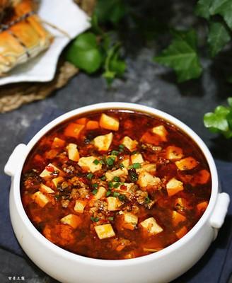 雪菜肉沫烧豆腐