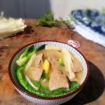 金针油菜猪肝汤