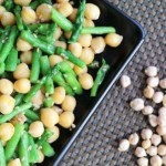 芦笋鹰嘴豆