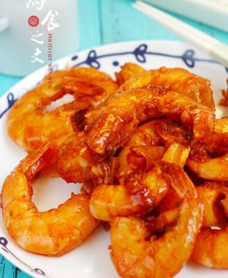 #秋季保胃战# 台式柠檬虾
