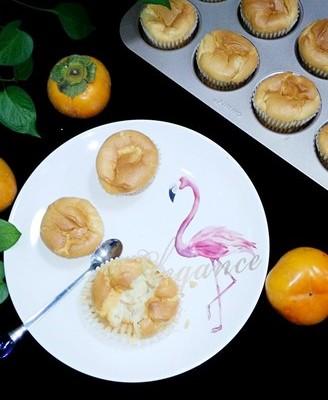 柿子纸杯蛋糕