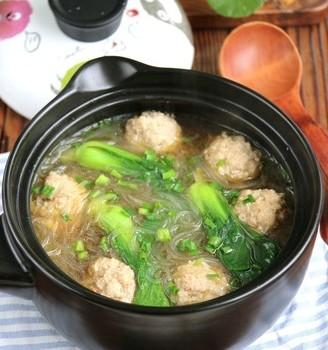 粉丝肉丸汤