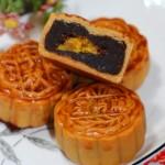 广式豆沙板栗月饼