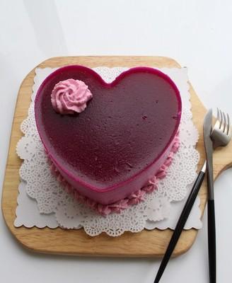 火龙果酸奶慕斯