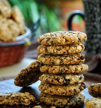 红糖燕麦低脂饼干