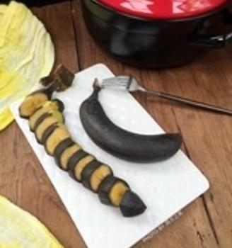 砂锅烤香蕉