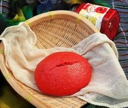红曲豆面发糕