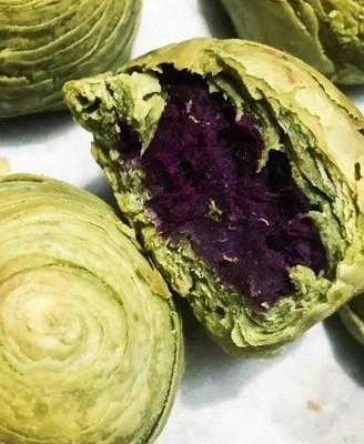抹茶紫薯酥