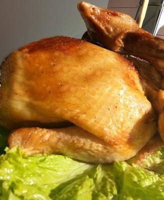 空气炸锅版烤全鸡
