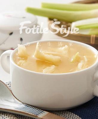 糟煨茭白汤