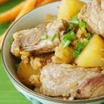 土豆排骨燜飯