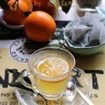 香橙烏龍熱茶