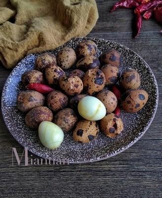 五香卤鹌鹑蛋