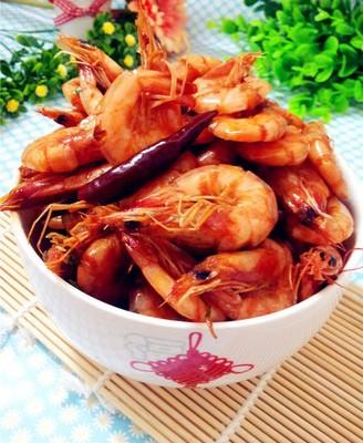 双椒麻辣虾