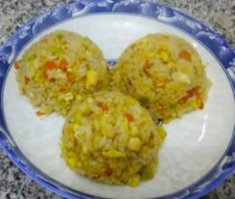 营养蛋炒饭#早餐#