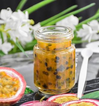 百香果果酱 #下午茶#