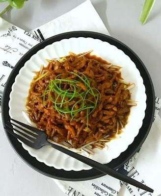 京酱肉丝#午餐#