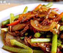 蒜苔回锅肉