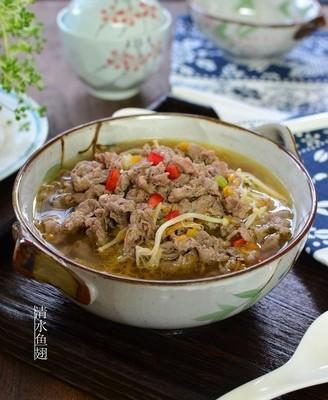 酸汤牛肉 #午餐#