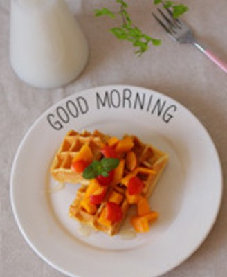 水果华夫饼#下午茶#