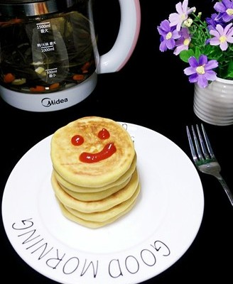 #早餐#软香玉米饼