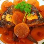 鱼头烧萝卜
