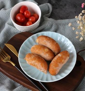 鸡肉玉米肠#丘比沙拉汁#