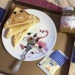 香脆面包片#丘比果酱#