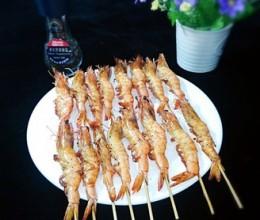 霸王超市丨黑椒香烤串串虾