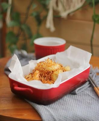 椰丝烤虾仁