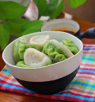 芹菜肉水饺