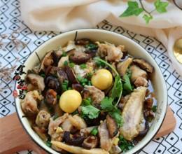 冬菇姜葱蒸滑鸡