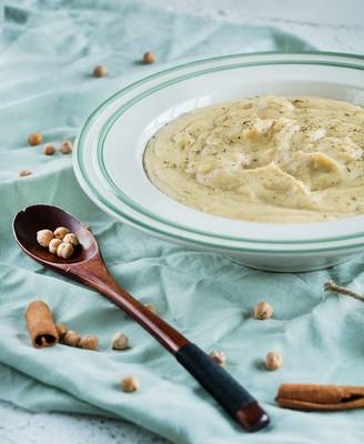 鹰嘴豆泥暖汤