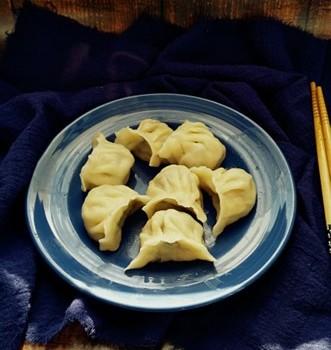 韭菜扇贝肉饺子