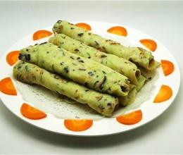 香菇西葫芦鸡蛋饼
