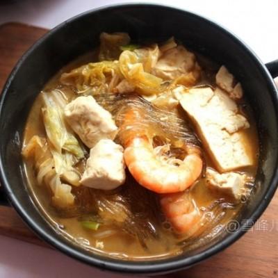 白菜豆腐一锅炖