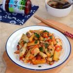 香菇小酱炒年糕