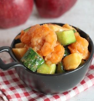 茄汁虾仁苹果