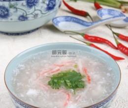 化解暑湿的营养汤羹蟹肉烩冬茸