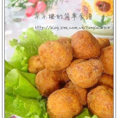 学做菜--豆腐肉丸