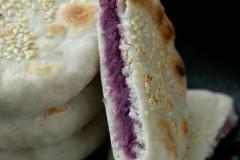 合适的气温跟我来一起玩面团吧--紫薯烙饼